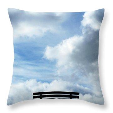 Garden Seat Throw Pillow by Fabrizio Troiani