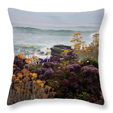 Throw Pillow featuring the photograph Garden View by Ivete Basso Photography