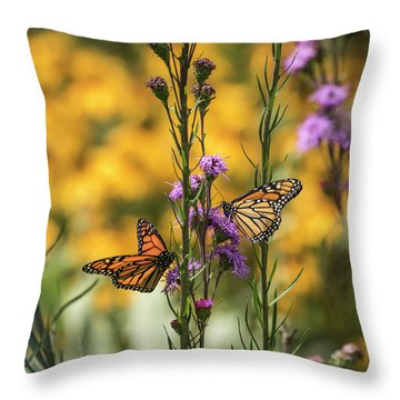 Gardeners Dream Throw Pillow