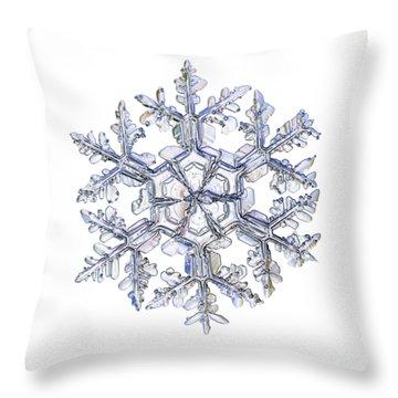 Gardener's Dream, White Version Throw Pillow