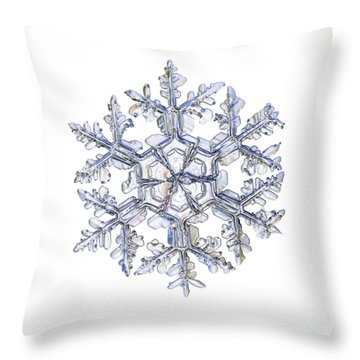 Gardener's Dream, White Version Throw Pillow