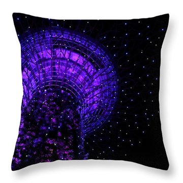 Gardens By The Bay In Singapore Throw Pillow