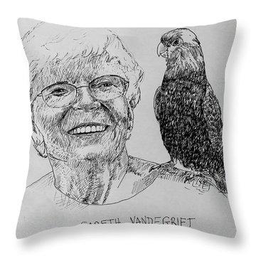 Gareth Vandegrift Throw Pillow