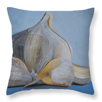Garlic IIi Throw Pillow
