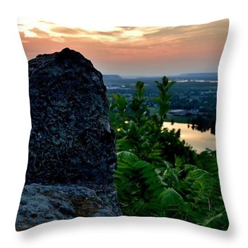 Garvin Heights Sunset Throw Pillow