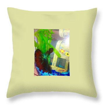 Gary Hanging Loose Throw Pillow