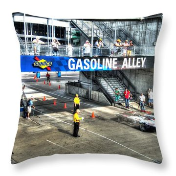 Gasoline Alley 2015 Throw Pillow