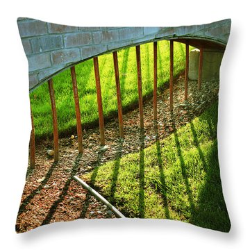 Gate-redemption Throw Pillow