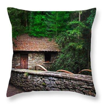 Gate Keeper's Home Throw Pillow