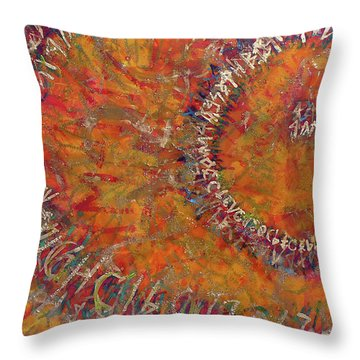Gate Of Nimrod Throw Pillow