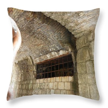 Gate To The Old Town Kotor Throw Pillow