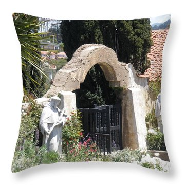 Gate Way To Heaven Throw Pillow