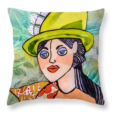 Gateau Chapeau Throw Pillow