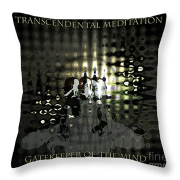 Gatekeeper Of The Mind Throw Pillow