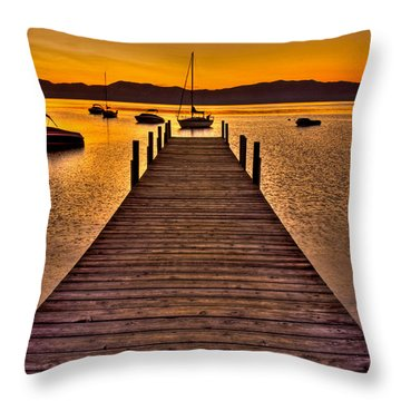 Gateway Throw Pillow by Scott Mahon
