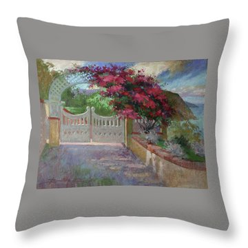 Gateway Splendor - Catalina Island Throw Pillow
