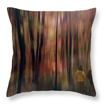 Gateway To A Dream Throw Pillow by Robin Webster