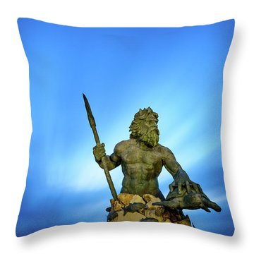 Gateway To The Sea Throw Pillow
