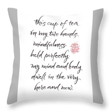 Gatha Six Throw Pillow
