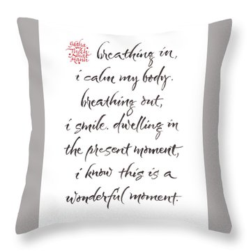 Gatha Two Throw Pillow