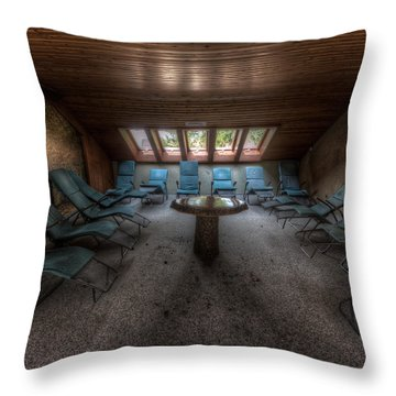 Gather Round  Throw Pillow by Nathan Wright
