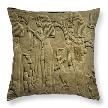 Gathering For A Feast Throw Pillow