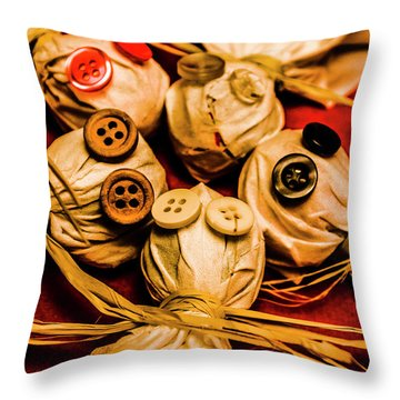 Gathering Of Ghosts Throw Pillow