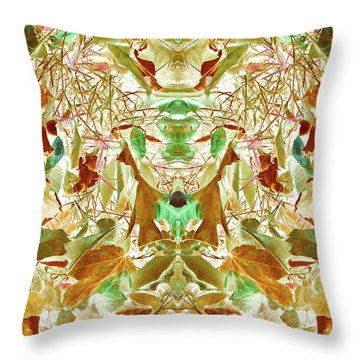 Gathering Of Mind Throw Pillow