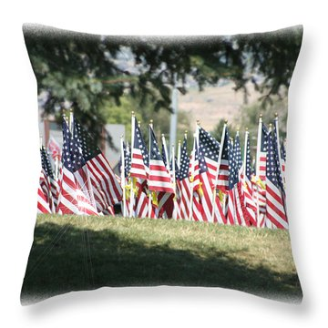 Gathering Of The Guard - 2009 Throw Pillow