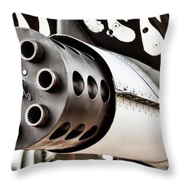 Gatling Throw Pillow