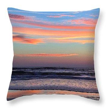 Gator Sunrise 10.31.15 Throw Pillow