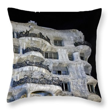 Gaudi  Throw Pillow