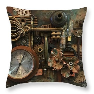 Gauge This Throw Pillow