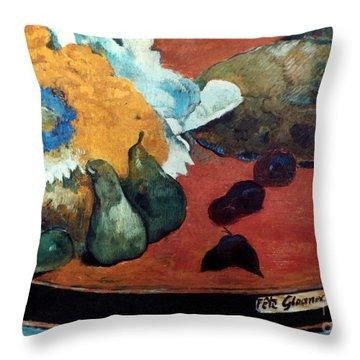 Gauguin: Fete Gloanec, 1888 Throw Pillow by Granger