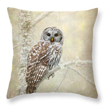 Guardian Of The Woods II Throw Pillow