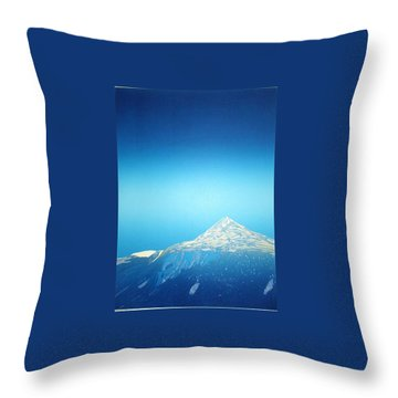 Gaustatoppen. Throw Pillow by Jarle Rosseland