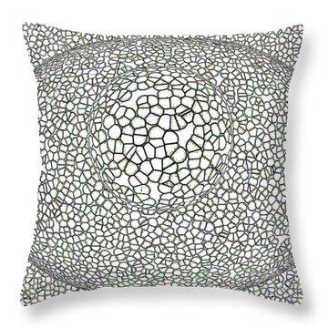 Gauzean Throw Pillow by Bruce Iorio