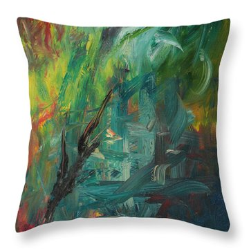Gaza Summer 2014 Throw Pillow