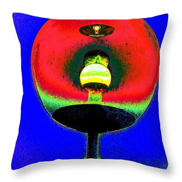 Gaze Into The Orb Throw Pillow