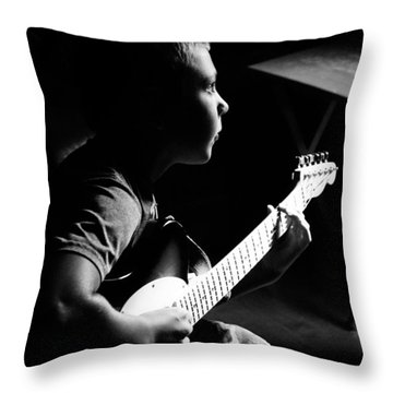 Greatness In The Making Throw Pillow