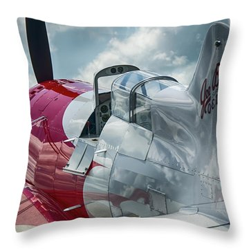 Gee Bee Throw Pillow