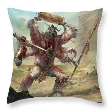 Gegenees Giant Throw Pillow