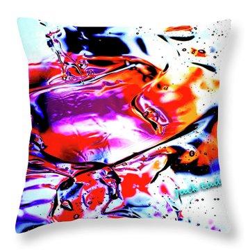 Gel Art #14 Throw Pillow by Jack Eadon