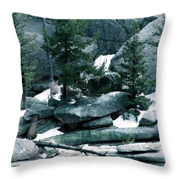 Gem Lake Throw Pillow