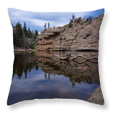 Gem Lake Throw Pillow
