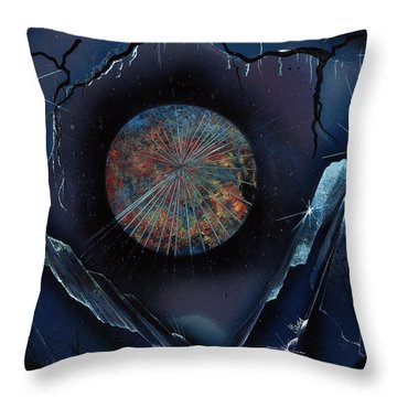 Gem Mountain Throw Pillow