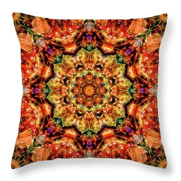 Gem Pattern Throw Pillow
