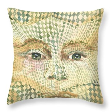 Gender Jester  Throw Pillow