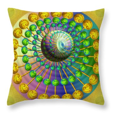 Gene Pool Throw Pillow