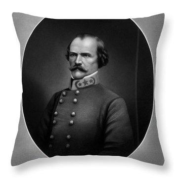 General Albert Sidney Johnston Throw Pillow
